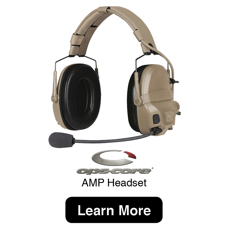 OpsCore AMP Headset