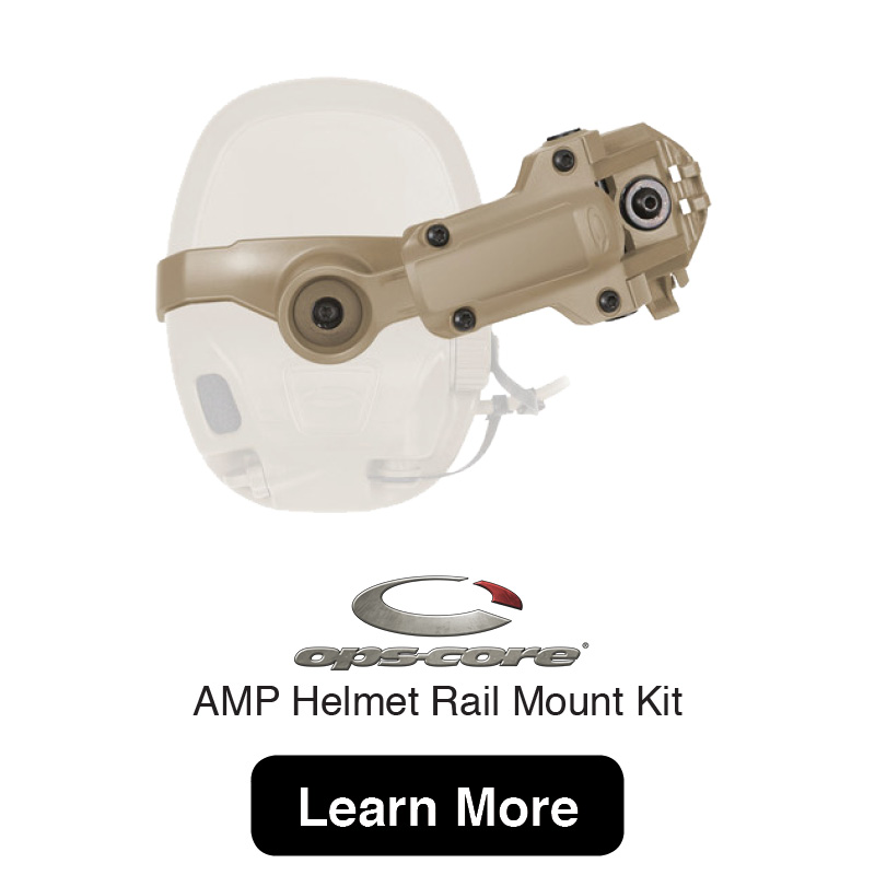 IPS_CORE AMP Helmet Rail Mount Kit