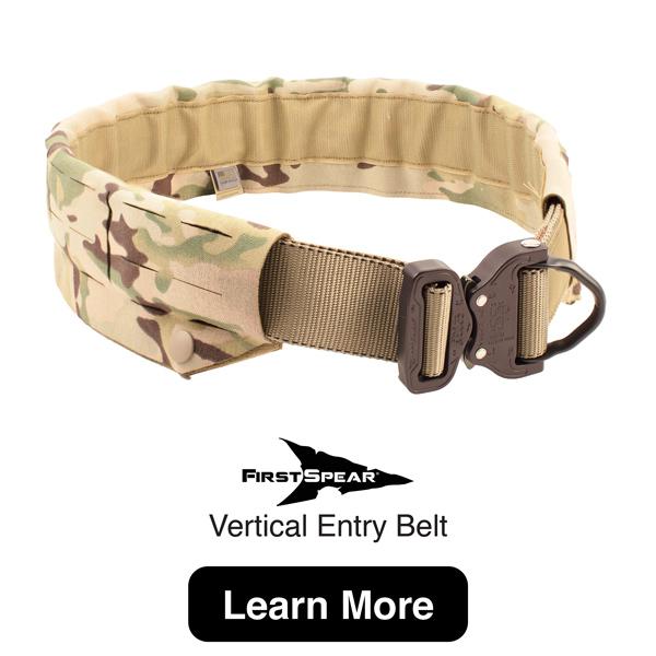 FirstSpear Vertical Entry Belt